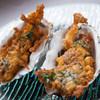 牡蠣のベニエ(1ヶ)~セージバターのソース~