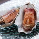 牡蠣のベーコン巻(1ヶ)