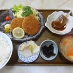 34819827 - メンチカツ定食