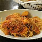 34819920 - ミンチとエリンギのトマト煮込みソース