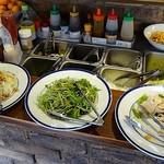 レストラン 祭太鼓 - サラダ