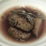 34822839 - 茄子の煮浸し(野菜取り放題の一部)
