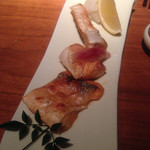 34823169 - 生鮭のハラス塩焼き