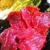 七厘亭 - 料理写真:馬刺し
