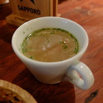 34824428 - 自家製スープ(15年2月)