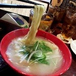 肉バル NORICHANG - 比内地鶏白湯麺