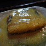 長寿庵 - そば定食の「鯖の味噌煮」