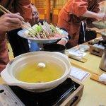 新蟹懐石 蟹風船 - 蟹すき鍋