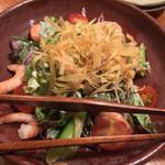 やまや - 10品目のたっぷり野菜サラダ(¥731)