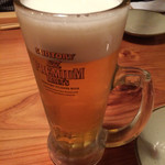 やまや - 生ビール(¥571)