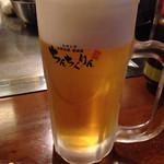 Chinchikurin - 生ビール ¥520