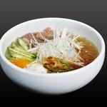 焼肉酒家 波 - 冷麺
