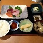 魚や一丁 - 本日のお刺身定食 いまは880円