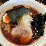 麺屋 蕾 - しょうゆ大盛(ランチサービス)680円
