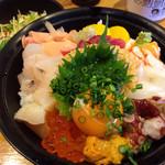 栄寿し総本店 - スタミナ丼、ニンニク入り