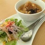 カフェ ド ロウ - スープおにぎりモーニング
