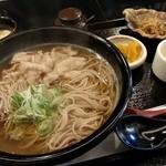 逸旬 - 蕎麦の定食