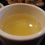 逸旬 - 洋梨のゼリー(蕎麦の定食)