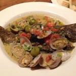 イタリア食堂&バル KIKUCHIYA - カレイのアクアパッツア