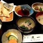 丸一 - 『天ぷら膳』¥1000-