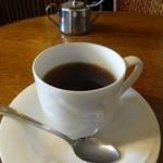 カフェ・ホートン - サイフォンで淹れたコーヒー