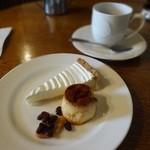 カフェ・ホートン - レアチーズケーキセット