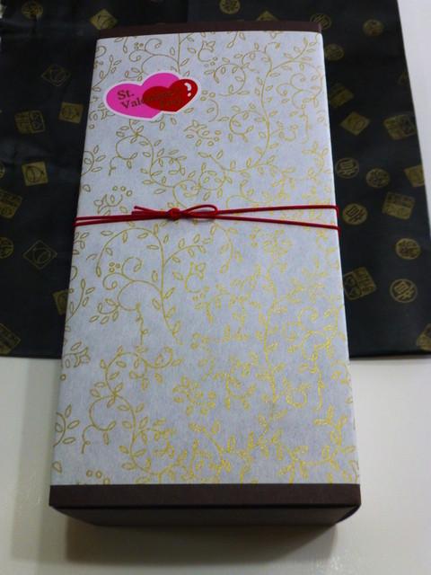 足立音衛門 うめだ阪急店 - 2015年2月 チョコレートの焼菓子セット「ちょこれーと箱(BOX)」