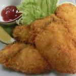 ■牡蠣(かき)料理 …その時期の生食用最高クラス使用