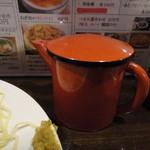 萬福本舗 - スープ割りのスープ入れ