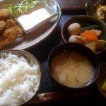 百年邑 - 牡蠣フライ御膳