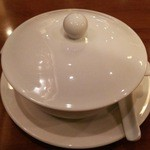 34841536 - 豆腐花は蓋をして登場