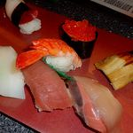 双葉寿司 - 握りの上(1050円・税別)です。