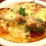 34843838 - 野菜とラクレットチーズのグラタン!これが一番美味しかったりして。                       o(^▽^)o