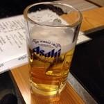 お好み焼五色 - 生ビール