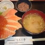 うろこ亭 - 親子丼(鮭いくら)1980円