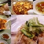 王蘭 - 雲片肉、麻婆豆腐、白飯