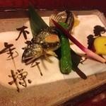 祇園割烹新山  - あゆ塩焼き