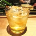鳥焼 笹や - 鳳凰美田 秘蔵梅酒
