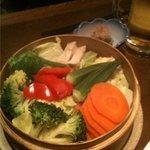 3485151 -  【2010.03撮影時】 温野菜!旬菜のセイロ蒸し 1050円