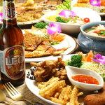 アジアティカ - 色鮮やかなタイ料理