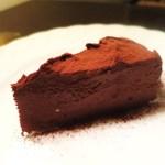 珈琲おーるど - チョコチーズケーキ