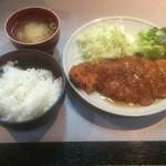 34850571 - 日替わり定食・トンカツ