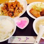 中華美食店 中光園 - 油淋鶏セット