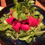 TAKASEGAWA - トマトとクレソンの和風サラダ