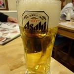 蜀郷閣 - 生ビール:300円(税別)