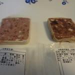 エムワイ パティー - 合鴨のパテ、鹿肉のパテ