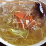 轟そば - 料理写真:野菜そば(580円)