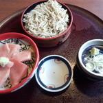 34854698 - ミニまぐろ丼&ミニ蕎麦セット