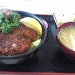 34855514 - 「ソースかつ丼(ヒレ)¥1,050」
