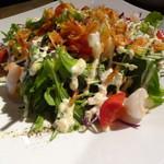 34855599 - 宴会コース 海老と野菜のミックスサラダ